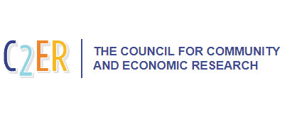 The Council for Community and Economic Research Logo