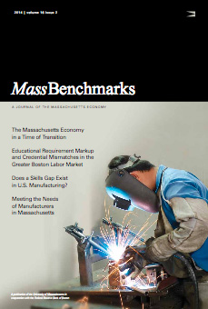 Image of a welder on Journal cover.